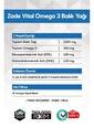 Zade Vital Omega 3 Balık Yağı Premium 30 Kapsül Renksiz